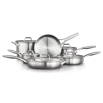 Calphalon Premier™ Stainless Steel 11-Piece Set