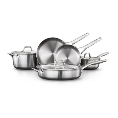 Calphalon Premier™ Stainless Steel 8-Piece Set