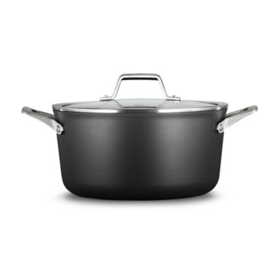 Calphalon Premier™ Hard-Anodized Nonstick 6-Quart Stock Pot & Cover