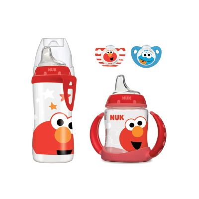 Sesame Street Cup and Pacifier Transition Set