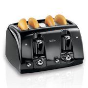 Sunbeam® 4-Slice Extra-Wide Slot Toaster, Black image number 0
