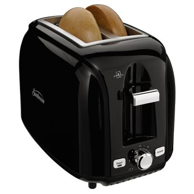 Sunbeam® 2-Slice Extra-Wide Slot Toaster, Black