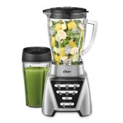Oster® Pro 1200 Blender with 3 Pre-Programmed Settings and  Blend-N-Go™ Cup, Brushed Nickel image number 1