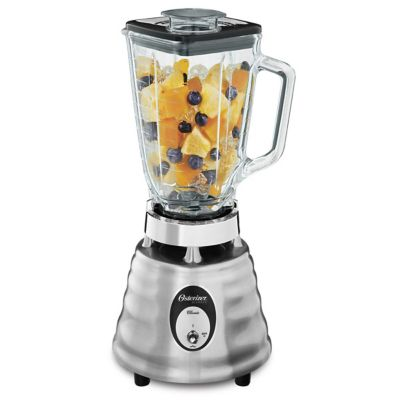 Oster® Classic Series Heritage Blender with 5-Cup Glass Jar, Stainless Steel