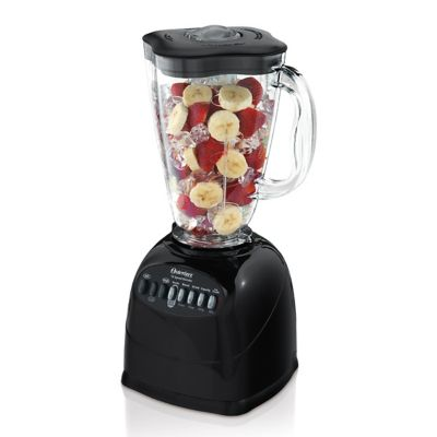 Oster® Classic Series Blender with BPA-Free Plastic Jar, Black
