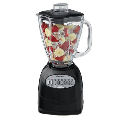 Oster® Precise Blend 300 Blender with 12 Speeds and 5-Cup Glass Jar, Black