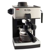 Mr. Coffee® Steam Espresso and Cappuccino Maker image number 0