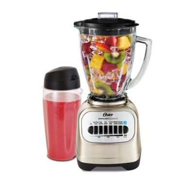Oster® Classic Series Blender with 8-Speeds and Blend-N-Go™ Cup, Stainless Steel