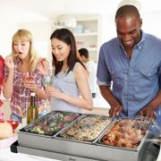 Oster® Large Triple Warming Tray Buffet Server image number 3