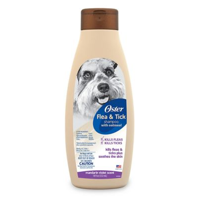Oster® Flea and Tick Shampoo - Mandarin Violet