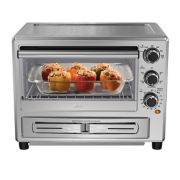 Oster® Stainless Steel Convection Oven with Pizza Drawer image number 3
