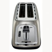 Oster® 4-Slice Long-Slot Toaster, Stainless Steel image number 1