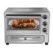 Oster® Stainless Steel Convection Oven with Pizza Drawer image number 2