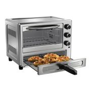 Oster® Stainless Steel Convection Oven with Pizza Drawer image number 1