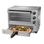 Oster® Stainless Steel Convection Oven with Pizza Drawer image number 0