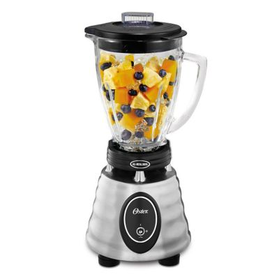 Oster® Classic Series Heritage Blender - Brushed Stainless - Glass Jar