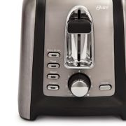 Oster® Black Stainless Collection 4-Slice Long Slot Toaster image number 5