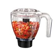 Oster® Precise Blend 700 Blender with Food Chopper and 6-Cup Glass Jar, Gray image number 3