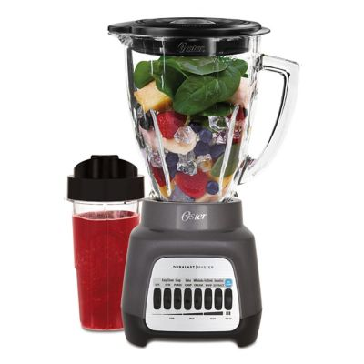 Oster® Master Series 8-Speed Blender with Blend-n-Go Cup, Gray