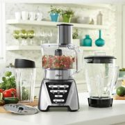 Oster® Pro 1200 Blender with 3 Pre-Programmed Settings, Blend-N-Go™ Cup and 5-Cup Food Processor, Brushed Nickel image number 3