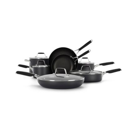 Select by Calphalon™ Hard-Anodized Nonstick Pots and Pans, 12-Piece Cookware Set