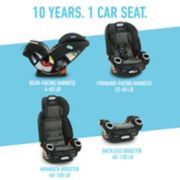 4Ever® DLX Platinum 4-in-1 Car Seat image number 1