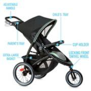 FastAction™ Jogger LX Stroller image number 3