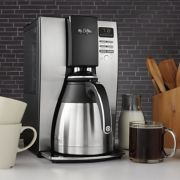 Mr. Coffee® Optimal Brew™ 10-Cup Programmable Coffee Maker with Thermal Carafe image number 2