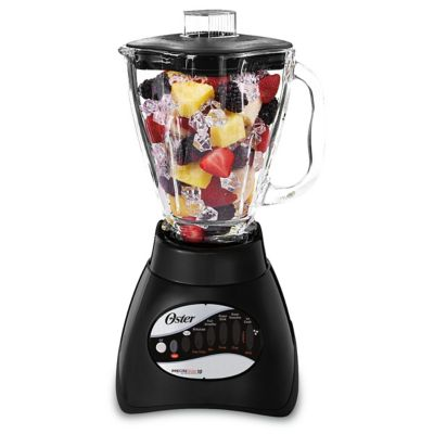 Oster® Classic Series Blender with Ice Crushing Power and Glass Jar, Black
