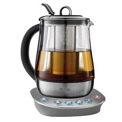 Mr. Coffee® Hot Tea Maker and Kettle - Stainless
