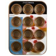 Simply Calphalon Nonstick Bakeware 12-Cup Cupcake Pan image number 2