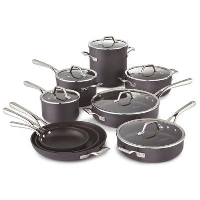 Calphalon Williams-Sonoma Elite Hard-Anodized Nonstick 15-Piece Cookware Set