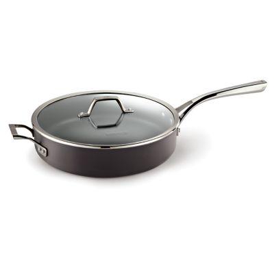 Calphalon Williams-Sonoma Elite Hard-Anodized Nonstick 6-Quart Saute Pan with Cover