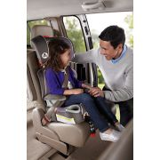 a fix high back car seat in vehicle image number 4