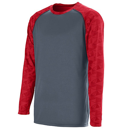 Fast Break Long Sleeve Jersey - Youth