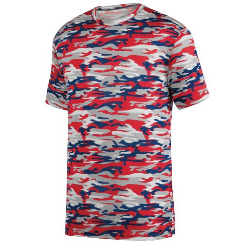 MOD CAMO WICKING TEE - YOUTH