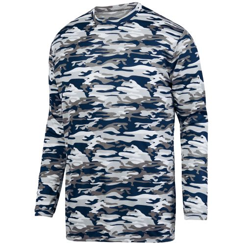 MOD CAMO LONG SLEEVE WICKING TEE - YOUTH