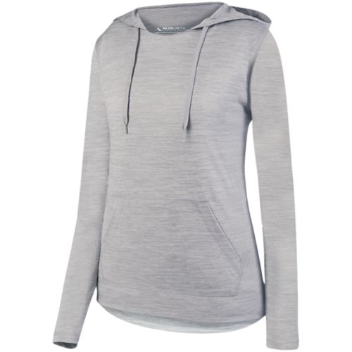 LADIES SHADOW TONAL HEATHER HOODY