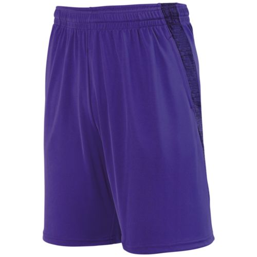 INTENSIFY BLACK HEATHER TRAINING SHORT