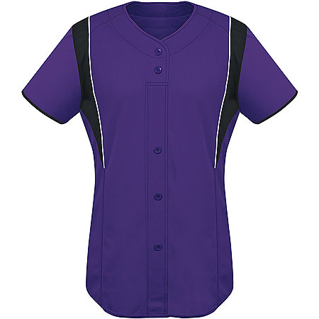 LADIES FAUX FRONT JERSEY