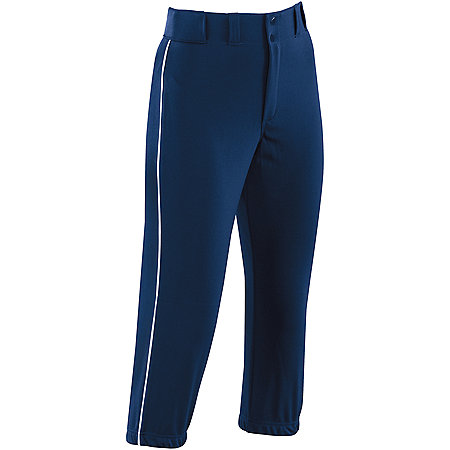 LADIES PIPED PROSTYLE LOW-RISE SOFTBALL PANT