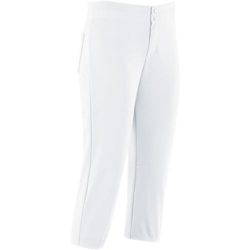 GIRLS UNBELTED SOFTBALL PANT