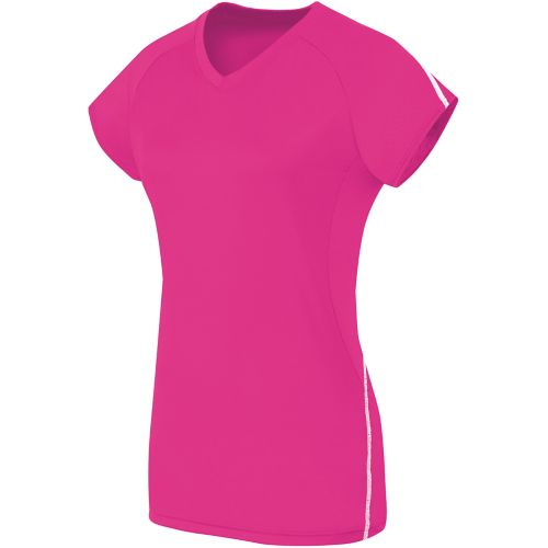 LADIES SHORT SLEEVE SOLID JERSEY