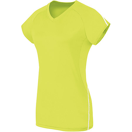 GIRLS SHORT SLEEVE SOLID JERSEY