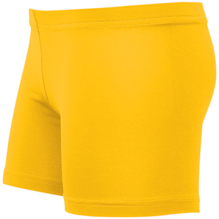LADIES SPIKE LOW RISE POLYESTER/SPANDEX SHORT