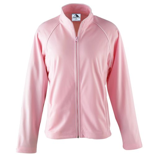 GIRLS BRUSHED TRICOT JACKET