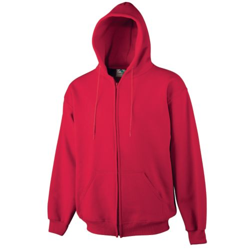 YOUTH HEAVYWEIGHT ZIP FRONT HOODED SWEATSHIRT