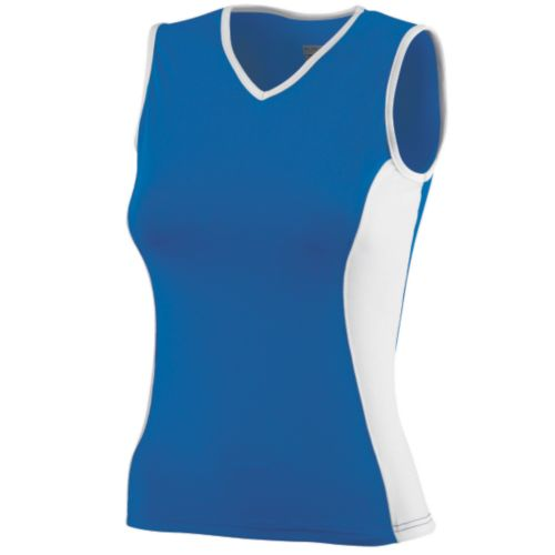 GIRLS POLY/SPANDEX SLEEVELESS TOP