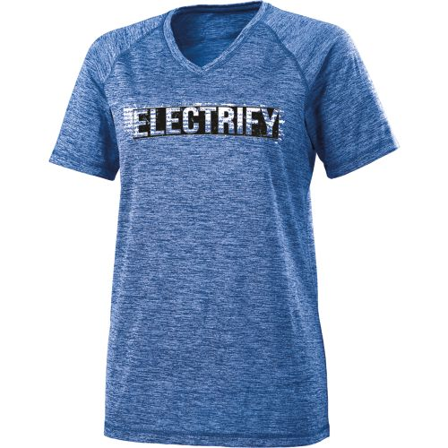 LADIES' ELECTRIFY 2.0 SHIRT V-NECK S/S