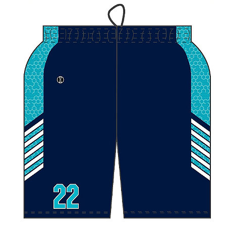 DECORATED SUBLIMATED SHORT